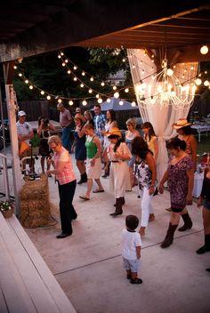 Domestic Fashionista: Country Backyard Birthday Party