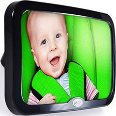Amazon.com : Safe Baby Tech Baby Car Mirror, Crystal Clear Reflection : Baby