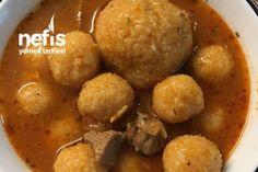 Analı Kızlı ( Muhteşem Bir Lezzet ) Tarifi Potatoes, Vegetables, Ethnic Recipes, Salsa, Food, Bulgur, Salsa Music, Potato, Veggies