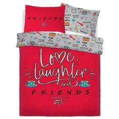 Friends Love Laughter Bedding Set for Friends Love Laughter Bedding Set Friends Cast, Friends Tv Show, Friends In Love, Friends Series, Double Bedding Sets, Duvet Sets, Duvet Cover Sets, Friends Merchandise, Friends Memorabilia