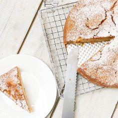 Ronde frisse appelcake met citroen recept online! appelcake ooklactosevrij allerhande