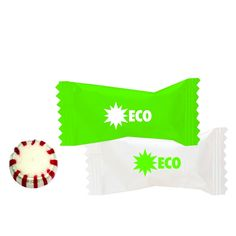 Make a sweet impression with these individually wrapped mints! Choose from a variety of mints and create your own custom wrapper- just email sales@misterpromotion.com! Phone: 212-677-7666 Website: misterpromotion.com