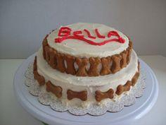 Dogbirthday cake.