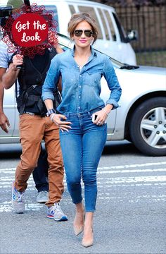 Jennifer Lopez Street Style!