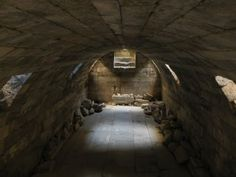 Underground Barrel Vaulted room at the Temple of Zeus at Aizanoi