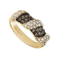chocolate diamond ring - one day!