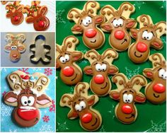 Gingerbread Reindeer Cookies