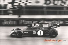 1972 Tyrrell type 005 with Francois Cevert testing at Silverstone