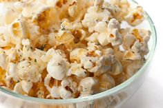 Parmesan-dill popcorn and 5 other healthy snack recipes