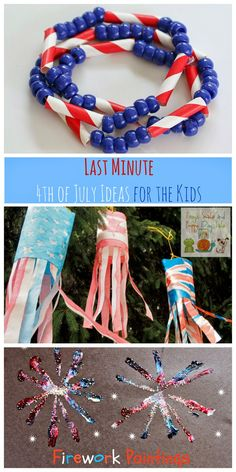 Last Minute  4th of July Ideas for the Kids by FSPDT  Features from last wks kids co-op