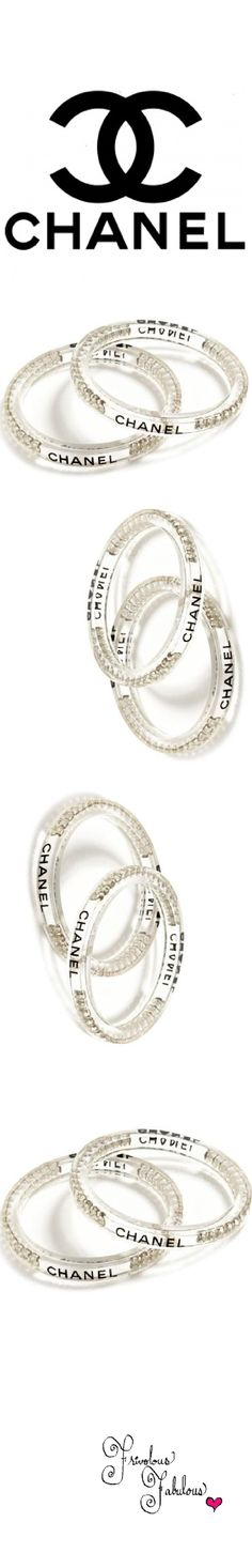 Vintage Chanel Bangles by Carole Tanenbaum | House of Beccaria~