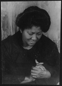 Mahalia Jackson was Cyril's favourite gospel singer