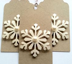 Christmas Gift Tags Holiday Gift Tags Kraft by TerrysCards on Etsy, $4.25