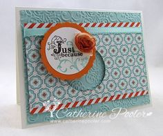 I need to make this card again with updated supplies.  Love this layout!  http://catherinepooler.com/2013/02/vintage-verses-simple-card-stepped-up/