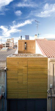 On Diseño - Proyectos: Vivienda unifamiliar entre medianeras en Sant Feliu de Llobregat