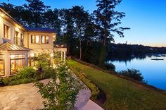 Without a doubt get the most unique waterfront property.Likely one of the most exciting of a handful of such homes in Canada.