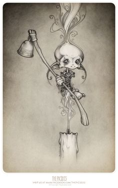 The Candle Ghosts... by thePicSees on DeviantArt