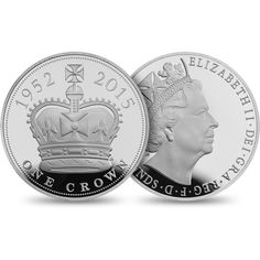 The Longest Reigning Monarch 2015 UK £5 Silver Proof Piedfort Coin