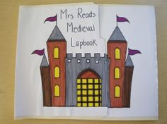 Medieval Lapbook - one of my students' favorite projects from the whole year!!