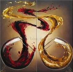 Wine art for Foam Floormat