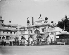 """""""Royal Pavilion"""", at the Golden Gate Midwinter fair, San Francisco, California - RBCM Archives Royal Pavilion, San Francisco California, Golden Gate, Dublin, Archive, Street View"""