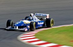 1995 David Coulthard, Williams FW17B Renault RS7 3.0 V10 David Coulthard, Formula One, Grand Prix, F1, 1990s, Race Cars, Racing, Deco, Beauty