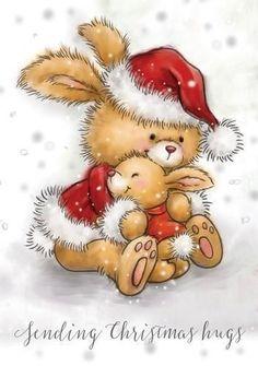 VB Wild Rose Studio Clear Stamp Christmas Bunny Source by sschelonke Christmas Bunny, Christmas Animals, Christmas Pictures, Christmas Art, Vintage Christmas, Christmas Decorations, Christmas Graphics, Christmas Clipart, Christmas Printables