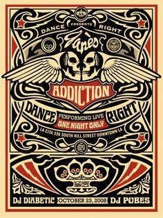 Jane's Addiction - Shephard Fairey - 2008