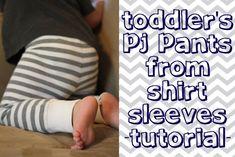 Tiny Tidbits: PJ Pants for the Little Guy