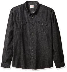 6bccf95162  20.99 Wrangler Men s Authentics Big   Tall Long Sleeve Classic Woven Shirt