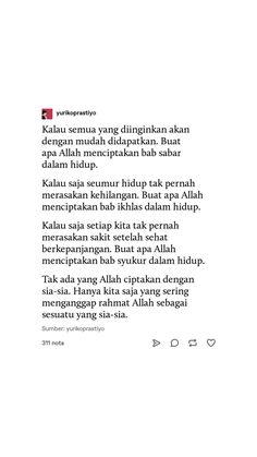 Religion Quotes, Reminder Quotes, Quotes Indonesia, Photos Tumblr, Islamic Quotes, Quran, Allah, Muslim, Qoutes