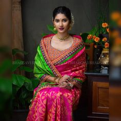 15 Most Flattering Designer Blouse Patterns for Sarees • Keep Me Stylish