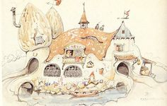 Fairy Land, Fairy Tales, Drawing S, Painting & Drawing, Character Inspiration, Character Art, Anton Pieck, Sketch Pad, Dutch Painters