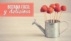 RECETA FÁCIL: Mini manzanas enchiladas!