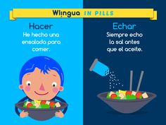 """""""Echo"""" viene de """"echar"""", y """"hecho"""", de """"hacer"""". Dos verbos distintos que se conjugan parecido, ¡no los confundas!"""