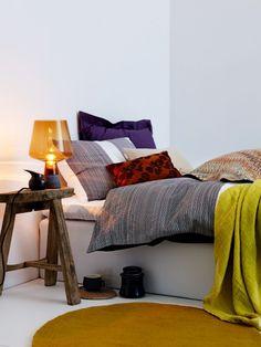 Sovrum_matta Simple Bed, Elle Decor, Interior Design Inspiration, Lounge, Couch, Furniture, Bedrooms, Decoration, Colors