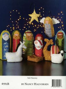 Awesome Art to Heart soft Nativity - I love new this pattern by Art to Heart!!!!