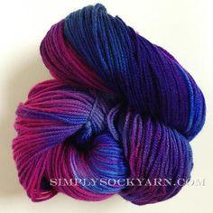 Simply Socks Yarn Company features Alchemy Juniper Bright Horizon.