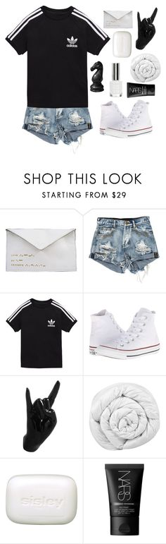 """Random (RTD)"" by switchkid ❤ liked on Polyvore featuring Antoinette Lee Designs, adidas Originals, Converse, Thelermont Hupton, Brinkhaus, Sisley, NARS Cosmetics and Topshop"