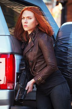 Black Widow from Captain America The Winter Soldier