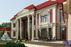 Big house design in Tashkent. SDS Proekt.