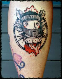 sailor by Stefano Arici tattoo