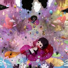 color: Childhood's End by Dric , via Behance
