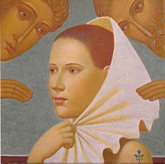 """Excursion"", 2011                                     Andrey Remnev                                           Tempera on canvas."