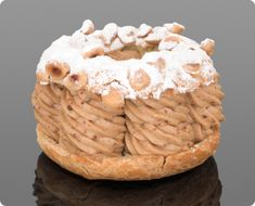 Paris-Brest by Jacques Genin - creamy nuttiness contained within perfectly baked pastry French Desserts, Sweet Desserts, Dessert Recipes, Pastry Cook, Pastry Art, Le Paris Brest, Jacques Genin, Pastry Design, French Patisserie