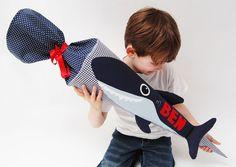 Schultüten - Schultüte Hai - ein Designerstück von josefines-kinder bei DaWanda