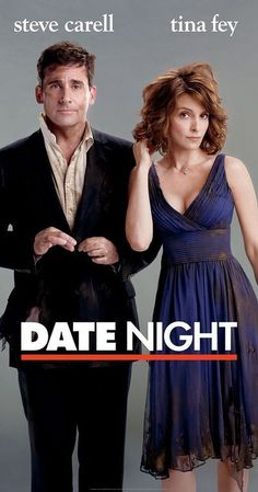 Directed by Shawn Levy.  With Steve Carell, Tina Fey, Mark Wahlberg, Taraji P. Henson. In New York City, a case of mistaken identity turns a bored married couple's attempt at a glamorous and romantic evening into something more thrilling and dangerous.