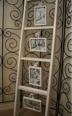 We will look at ways to reuse and repurpose old wooden ladders to create things you had not thought of before.