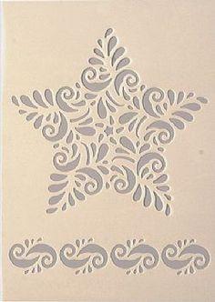 Στένσιλ σχεδίων(153) Barn Quilt Patterns, Stencil Patterns, Stencil Designs, Craft Patterns, Stencil Decor, Bird Stencil, Stencil Painting, Stenciling, Kirigami