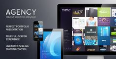 The Agency is the Next Generation Fullscreen Portfolio WP Theme. Unique clutter-free fullscreen experience with various control options. Present your works in professional manner with smooth flash-like flow. Future-proof approach and infinite scalability. #responsive #theme #template #wordpress #agency #fullscreen #portfolio